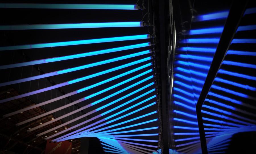 hexagon kinetic lights