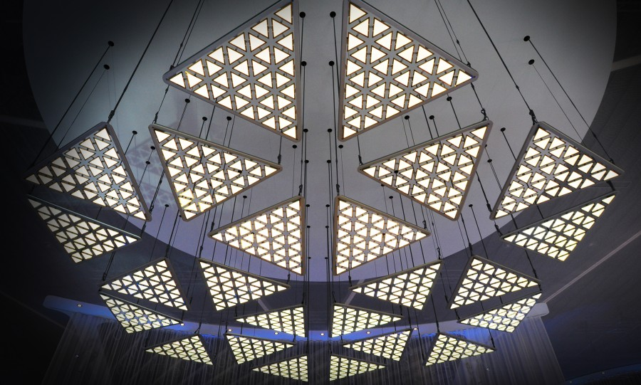 The Kinetic Lights System Can Be Ed For Temporary S Or Purchased Permanent Indoor Installations Worldwide