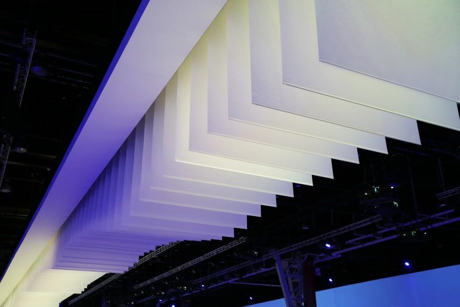 Paper Wave Kinetic Lights