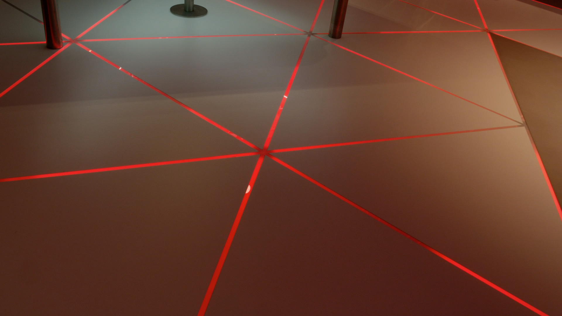 Pixel Line Floor Lights Kinetic Lights