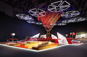 Kinetic Lights-Space Frame-Vodafone-IFA-001