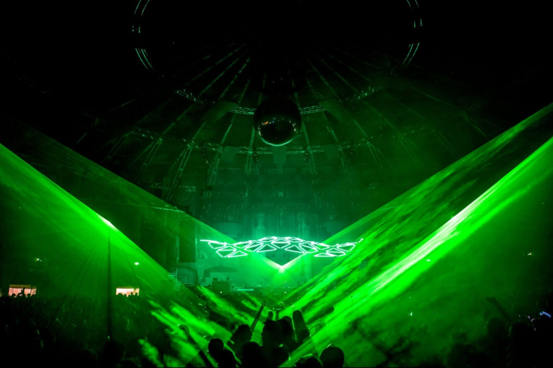 Grid Rave Kinetic Lights