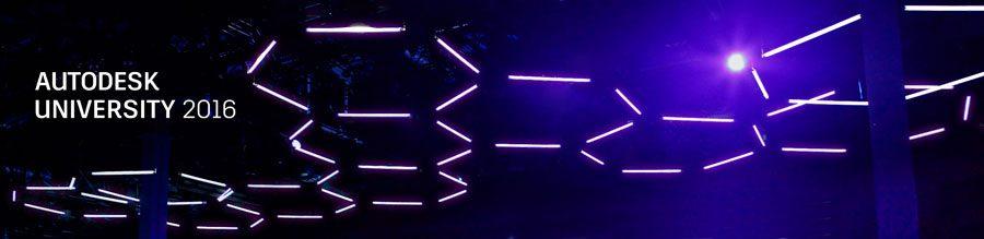 hexagon kinetic lights installation autodesk university 2016 in