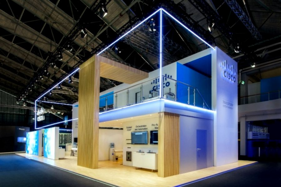 Sungard Exhibition Stand Lighting : Pixel line ‹ kinetic lights