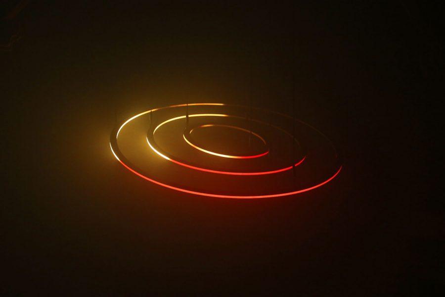 Circular Kinetic Lights